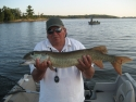 Bob P. with unusual muskie