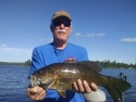 Lots of smallmouth close to camp